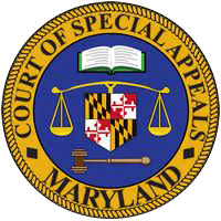 Court of Special Appeals Seal