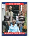 she belongs in a nursing home, she belongs with us family poster